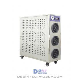 Máquina de Ozono 640W -  Serie IND hasta 80g/h. Es un generador de ozono industrial para uso profesional, apto paragrandes sup
