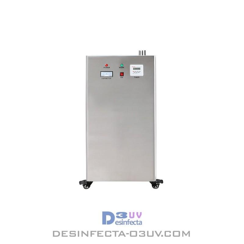 Aparato de Ozono 875W -  Serie INDPLUS 60g/h.  Este aparatogenerador deozonoindustrialcomprime el aire concentrando eloxig