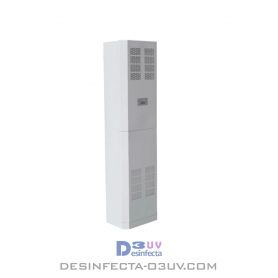 Esterilización con UV 350W -  Serie CABhasta 150m3  Este sistema esterilizador UV pertenece al grupo de purificadores aire UV.