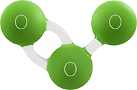 molecula ozono